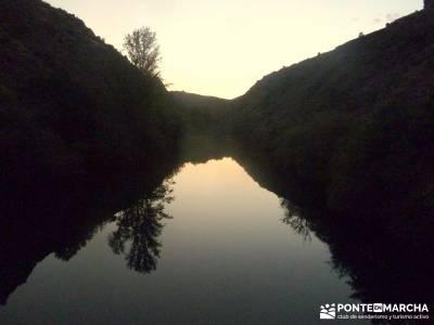 Meandros Río Lozoya-Pontón de la Oliva;actividad vespertina; villarreal de san carlos rutas por ca